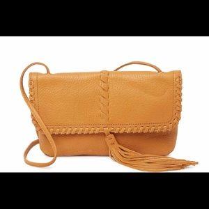 Hobo Leather Crossbody Bag Purse, Bramble, NWT